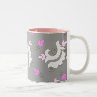 Grey paisley - Mug