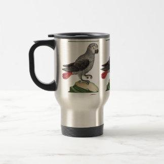 Grey Parrot - Psittacus erithacus Travel Mug