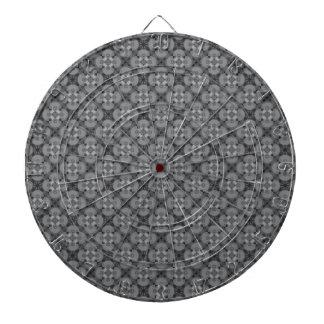 Grey Pattern Dartboards