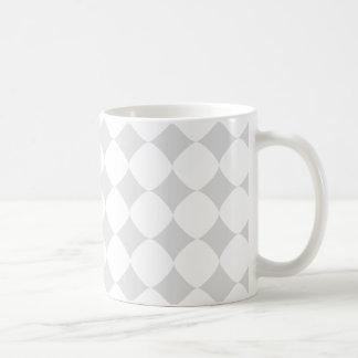 grey patterns coffee mug
