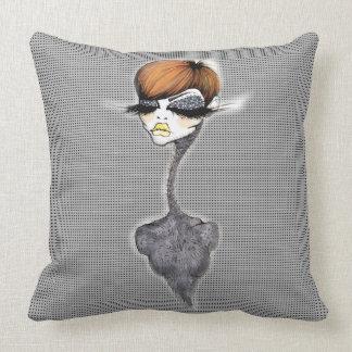 Grey Pixie Pillow