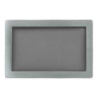 Grey Plain Blank DIY Template add text quote photo Belt Buckle