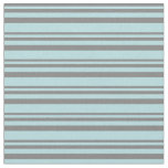 [ Thumbnail: Grey & Powder Blue Colored Lines/Stripes Pattern Fabric ]