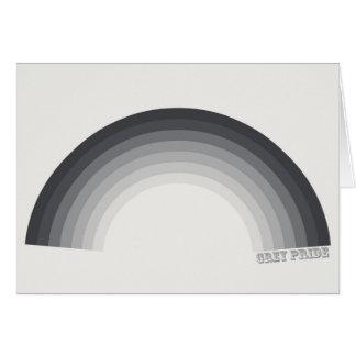 Grey Pride (UK Spelling) Card