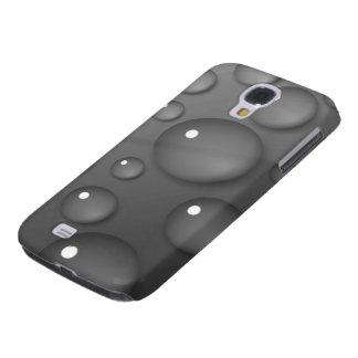 Grey Raindrop Background Samsung Galaxy S4 Cover