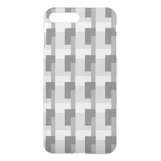 Grey Rectangles iPhone 7 Plus Case