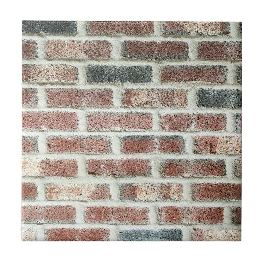 Grey Red Bricks Wall Background Brick Texture Tile