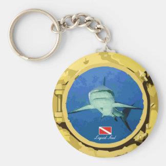Grey Reef Shark - Keychain
