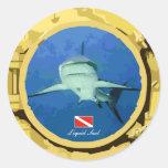 Grey Reef Shark Sticker
