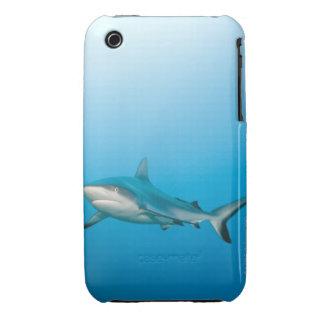 Grey reef sharks (Carcharhinus amblyrhnchos) iPhone 3 Case-Mate Case