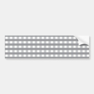 Grey Retro Style Pattern - Weddings Bumper Sticker