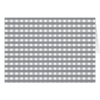 Grey Retro Style Pattern - Weddings Card