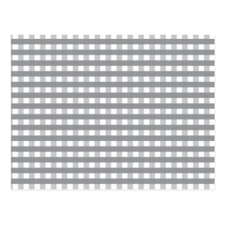 Grey Retro Style Pattern - Weddings Postcard