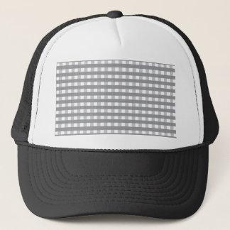 Grey Retro Style Pattern - Weddings Trucker Hat
