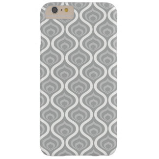 Grey Retro Waves Barely There iPhone 6 Plus Case