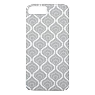 Grey Retro Waves iPhone 8 Plus/7 Plus Case