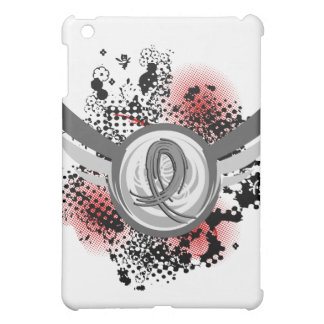 Grey Ribbon And Wings Brain Cancer Cover For The iPad Mini