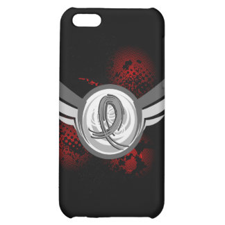 Grey Ribbon And Wings Brain Cancer Case For iPhone 5C