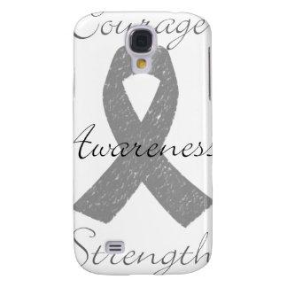 Grey ribbon brain cancer awareness HTC vivid covers