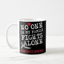Grey Ribbon Brain Cancer Awareness Coffee Mug