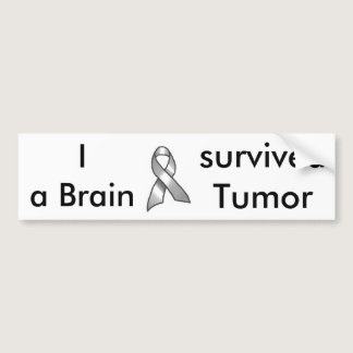GREY_RIBBON BUMPER STICKER