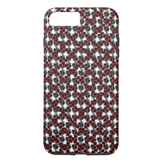 Grey Rubies Jewel CricketDiane Goth Trellis iPhone 7 Plus Case