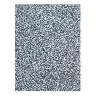 Grey sand or concrete texture background postcard