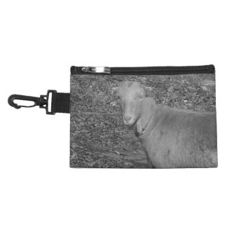Grey Scale Goat Accessory Bag