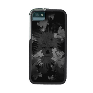 Grey Scale Spirit in Fractals iPhone 5 Covers