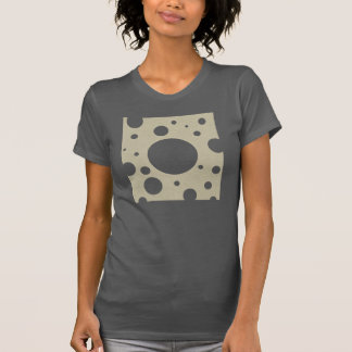 Grey Scattered Spots on Stone Leather Texture T Shirt