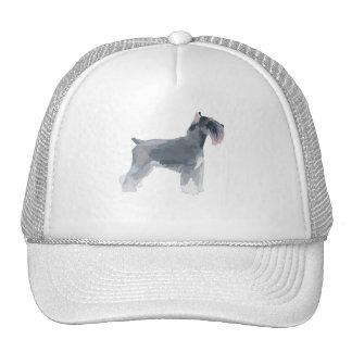 Grey Schnauzer Trucker Hat