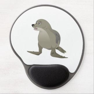 Grey Seal Gel Mouse Pad