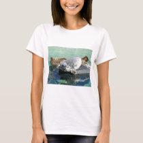 Grey Seal Looking Up T-Shirt
