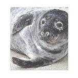 Grey Seal Note Pad