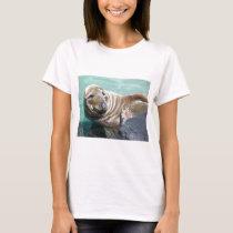 Grey Seal Portrait T-Shirt