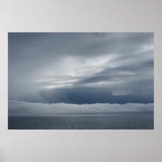grey seasky poster
