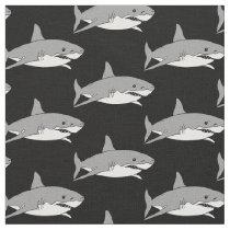 Grey shark fabric