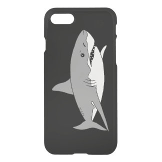 Grey shark iPhone 7 case