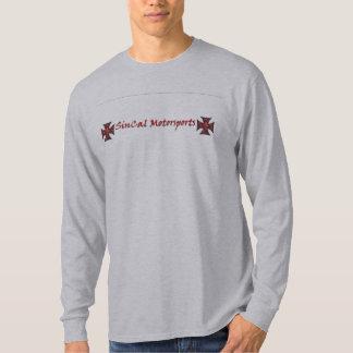 Grey Skull and Iron Cross T-Shirt