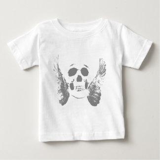 Grey Skull Baby T-Shirt