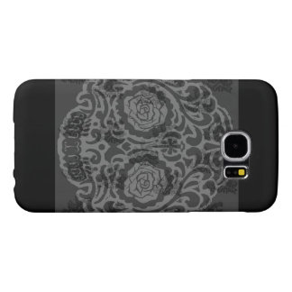 Grey Skull Samsung Galaxy S6 Case