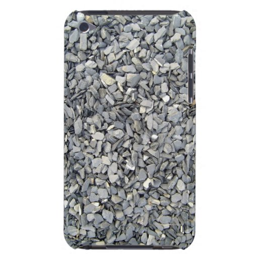 Grey Slate Chips Texture iPod Case-Mate Case
