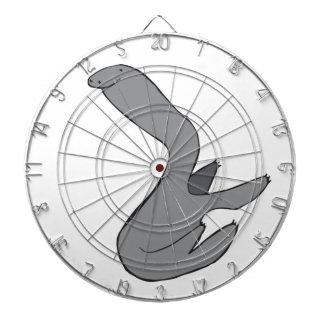 Grey Sloth Dartboard