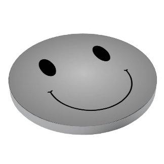 Grey Smiley Poker Chips