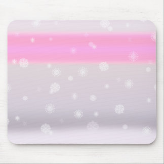 Grey Snow Fade Mouse Pad