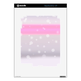 Grey Snow Fade Skins For The iPad 2