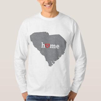 Grey SOUTH CAROLINA Home & Open Heart T-Shirt
