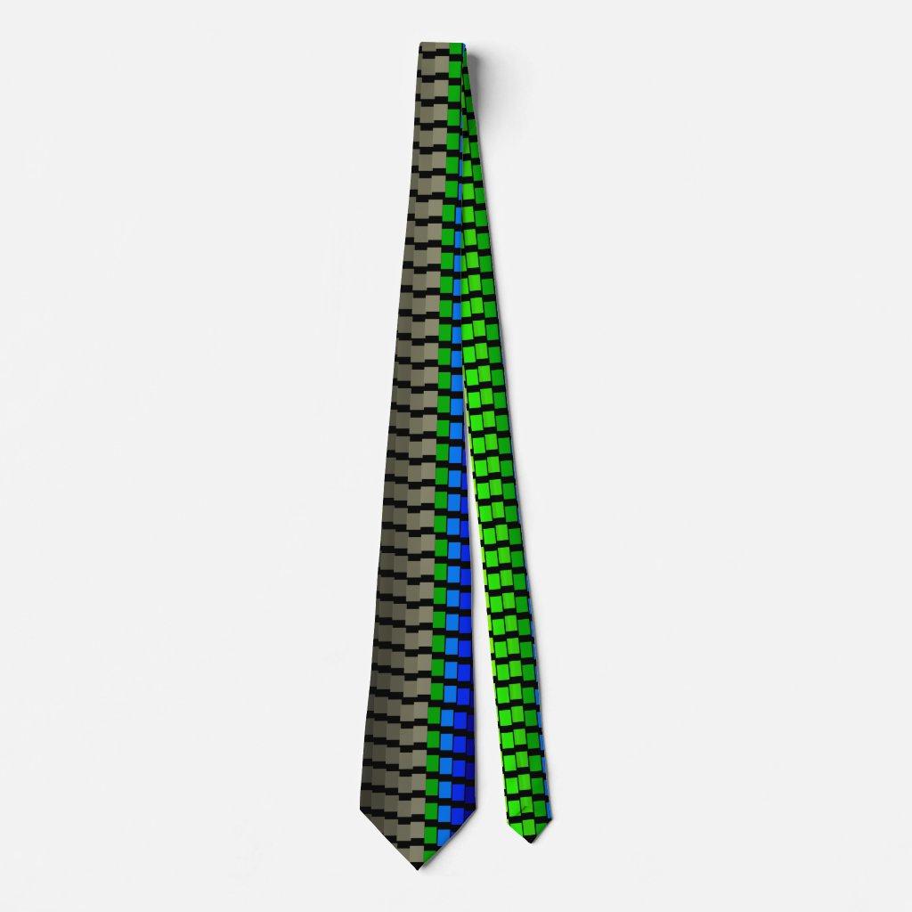 Grey Spectrum Pop Art Rainbow CricketDiane Ties