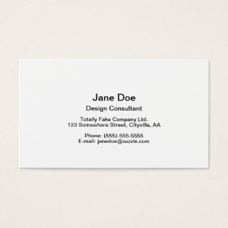 Grey Squirrel Business Card