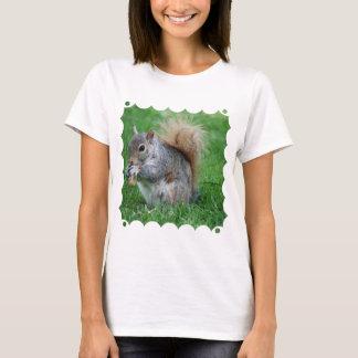 Grey Squirrel  Ladies T-Shirt